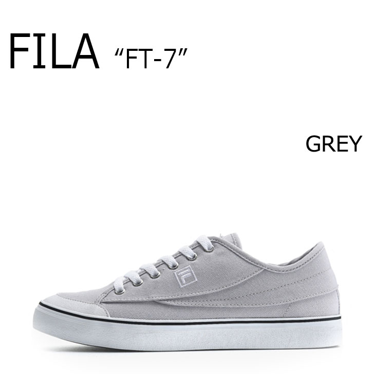 FILA FT-7/GRAY【フィラ】【エフティーセブン】【グレー】【F1XKZ0243】 シューズ