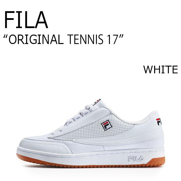 FILA ORIGINAL TENNIS 17/WHITE【フィラ】【オリジナルテニス17】【ホワイト】【F1XKZ5231】 シューズ