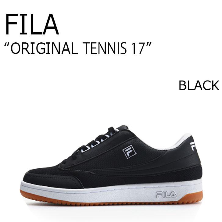 FILA ORIGINAL TENNIS 17/BLACK【フィラ】【オリジナルテニス17】【ブラック】【F1XKZ5232】 シューズ