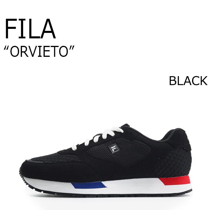 FILA ORVIETO/BLACK【フィラ】【オルヴィエート】【ブラック】【F1XKZ5911】 シューズ