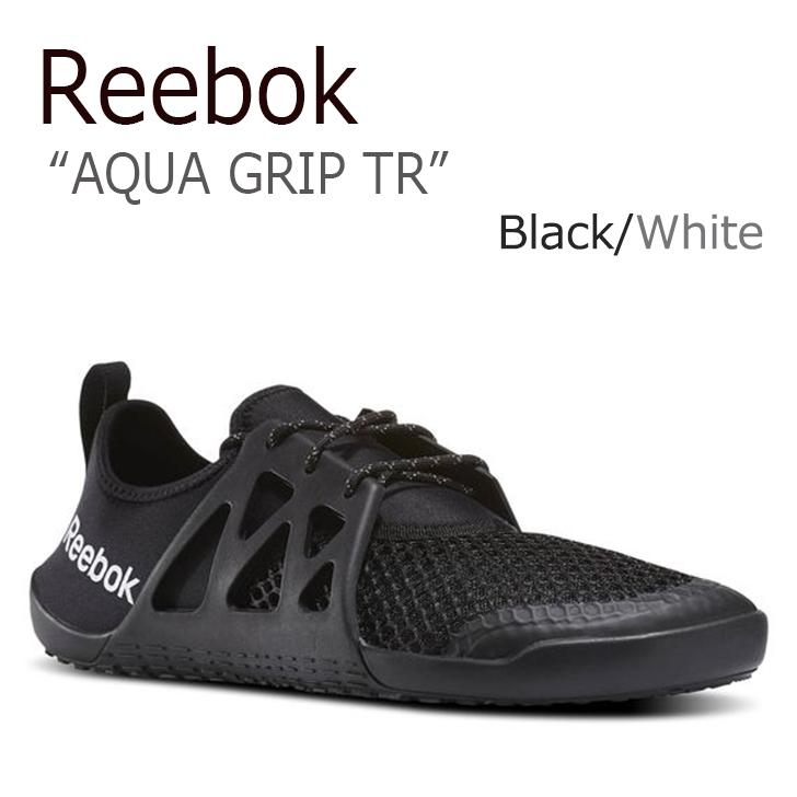 リーボック スニーカー Reebok メンズ AQUA GRIP TR アクアグリップ Black White ブラック BD5208 シューズ