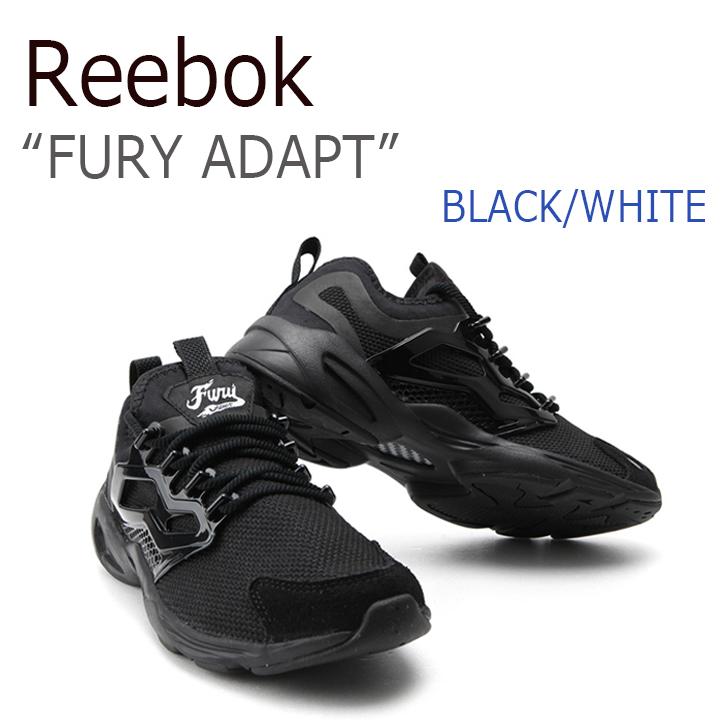 Reebok FURY ADAPT/Black/White【リーボック】【フューリーアダプト】【BD2408】 シューズ