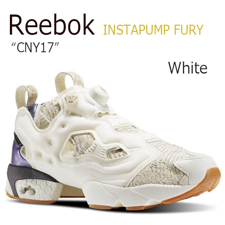 Reebok INSTAPUMP FURY CNY17/Chalk/Classic White/Rose Gold【リーボック】【ポンプフューリー】【BD2026】 シューズ