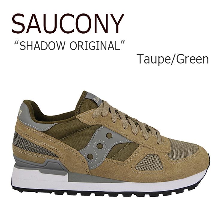サッカニー スニーカー Saucony メンズ Shadow Original シャドウ オリジナル Taupe Green トープ グリーン S2108-625 シューズ