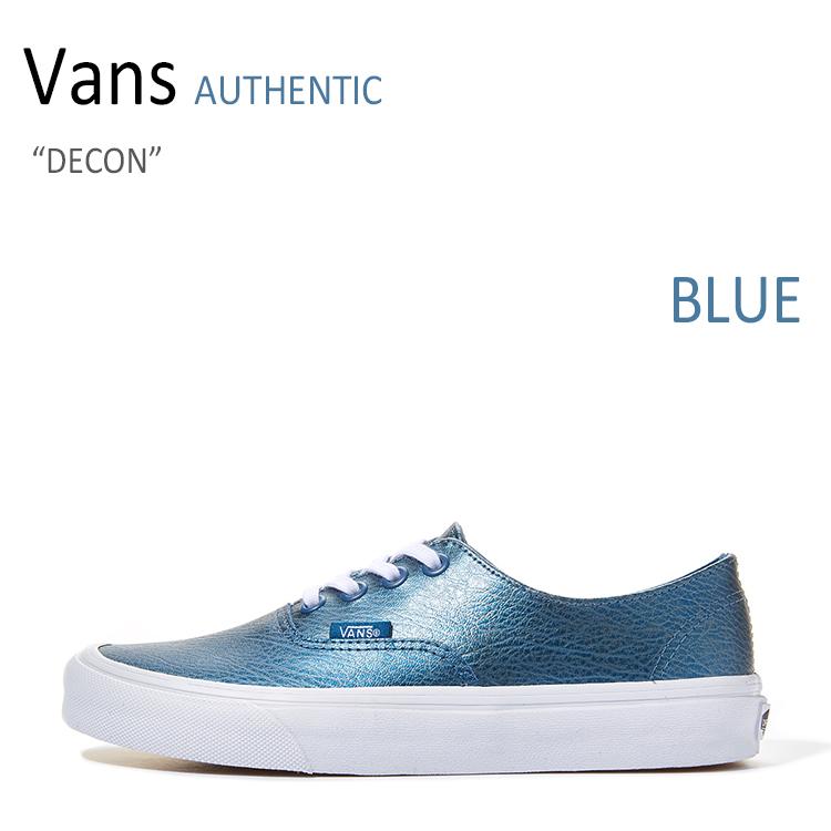 Vans AUTHENTIC DECON/BLUE【バンズ】【オーセンティック】【VN00018CIT0】 シューズ
