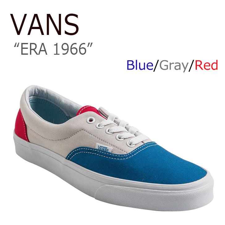 VANS ERA 1966/Blue/Gray/Red【バンズ】【エラ1966】【VN0A38FRMV2】 シューズ