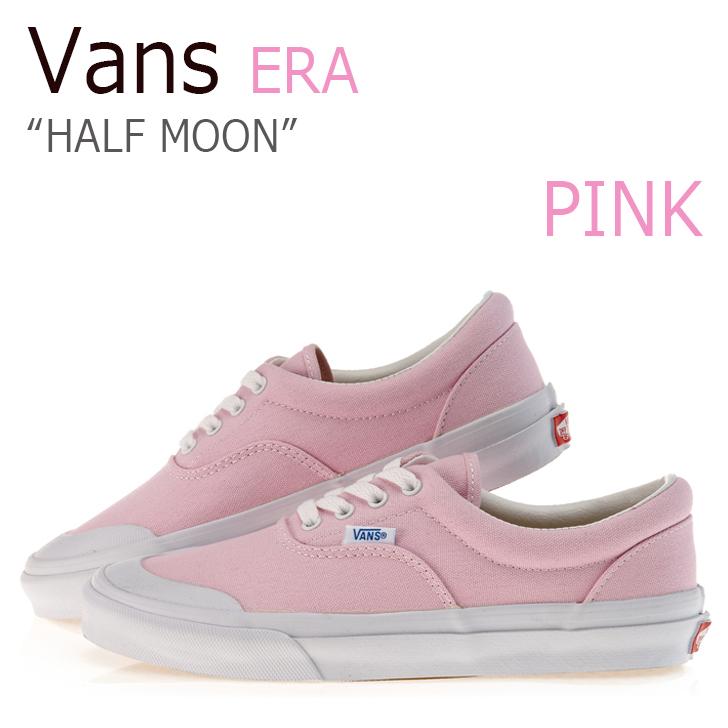 Vans Era/V95 HALF MOON/Pink【バンズ】【エラ】【ハーフムーン】【ピンク】 シューズ