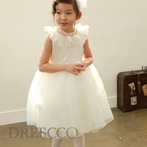 タレイアフリルラウンドドレス(70~140)子供ドレス キッズドレス ベビードレス 結婚式 発表会 コンクール