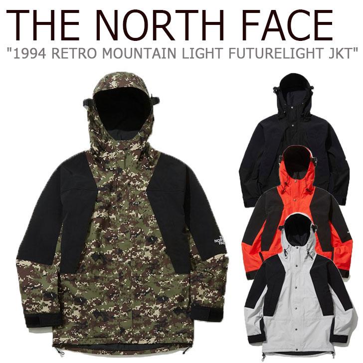 ノースフェイス ジャケット THE NORTH FACE メンズ レディース 1994 RETRO MOUNTAIN LIGHT FUTURELIGHT JACKET レトロ マウンテン ライト フューチャーライトジャケット 全4色 NJ2HL04A/B/C/D ウェア 【中古】未使用品