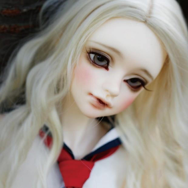【BJD CROBI-DOLL 】Licia(ノーマルスキン)(Chaste Body (split type)) (フラットフット) 即納 ドール