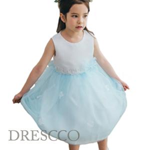ホワイトスカイブルードレス
