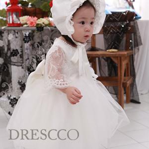 ホワイトフェアリースリーブドレス(70~130)