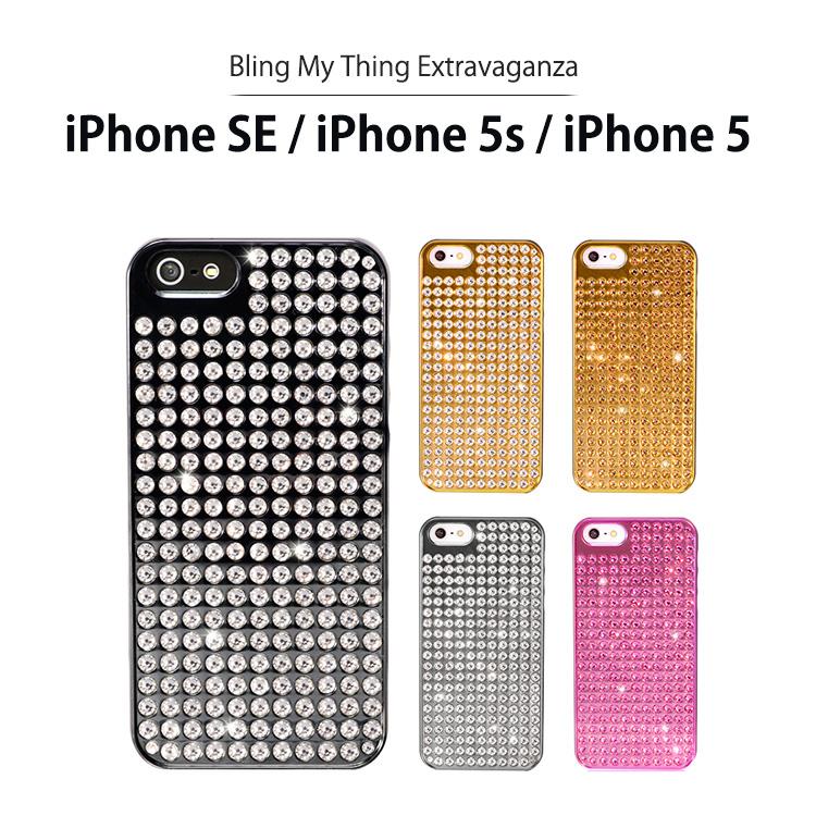 お取り寄せ iPhoneSE iPhone5s iPhone5 ケース Bling My Thing Extravaganza ハードケース created with Swarovski Crystals for Apple iPhone SE iPhone 5s iPhone 5 スマホケース