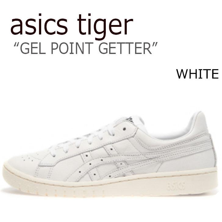 アシックス スニーカー asics メンズ レディース アシックスタイガー ゲル ポイントゲッター ASICS TIGER GEL-PTG WHITE ホワイト HL7X0-0101 シューズ