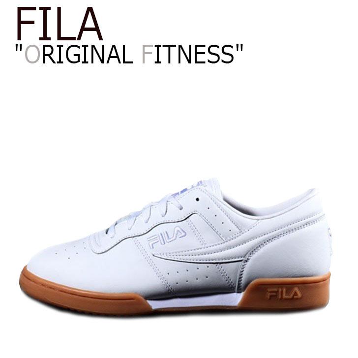 フィラ スニーカー FILA メンズ レディース ORIGINAL FITNESS オリジナルフィットネス O.F WHITE ホワイト F1XKY5904 シューズ