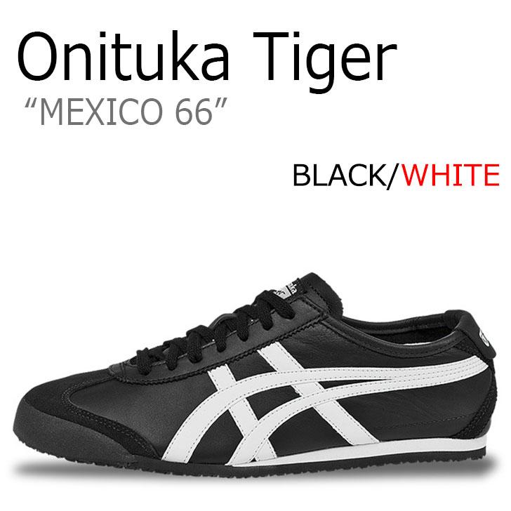 オニツカタイガー スニーカー Onitsuka Tiger メンズ レディース メキシコ66 MEXICO 66 BLACK ブラック WHITE ホワイト DL408-9001 シューズ