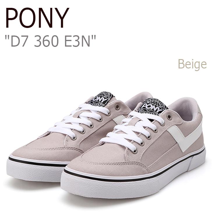 ポニー スニーカー PONY メンズ レディース D7 360 E3N Beige ベージュ FPCNH3U40E3 シューズ