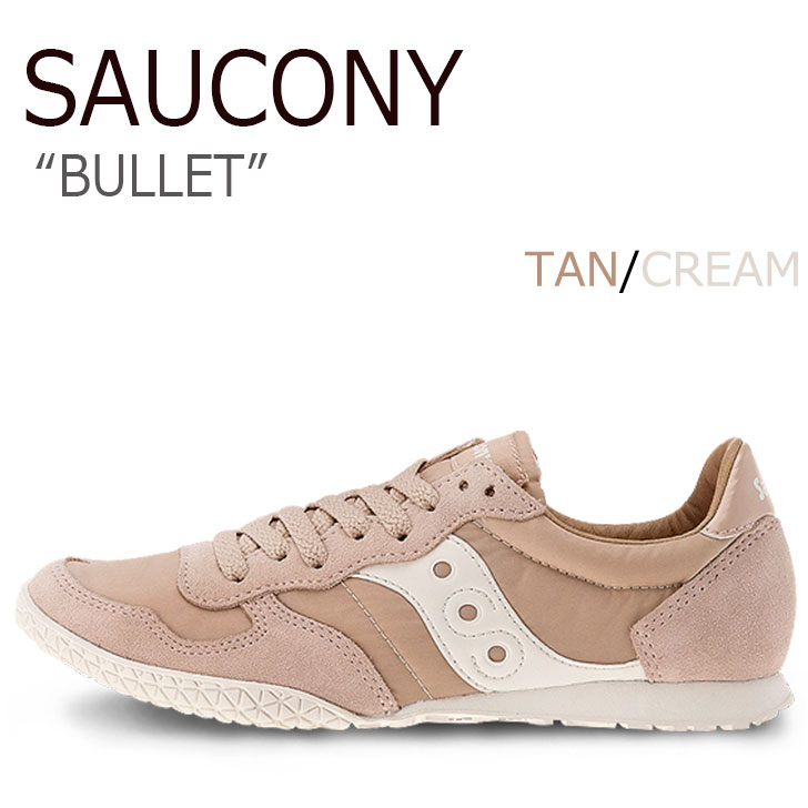 サッカニー スニーカー Saucony レディース BULLET バレット TAN タン S1943-157 シューズ