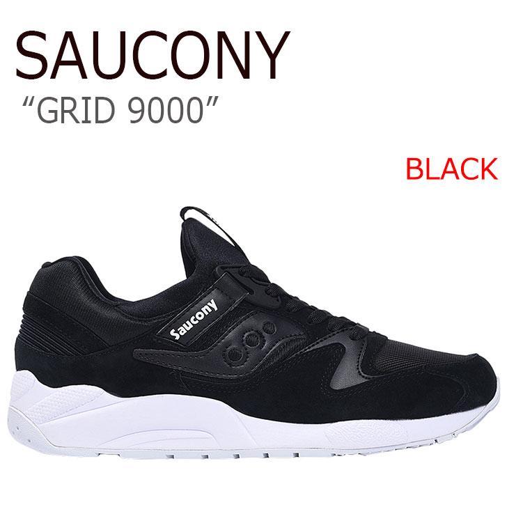 サッカニー スニーカー Saucony メンズ GRID 9000 グリッド9000 BLACK ブラック S70382-2 シューズ
