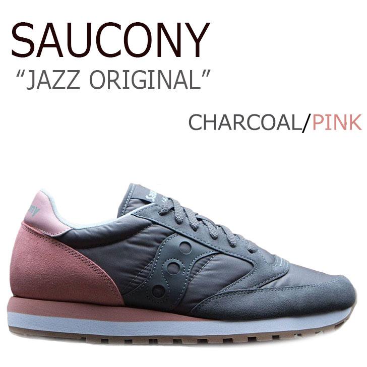 サッカニー スニーカー Saucony レディース JAZZ ORIGINAL ジャズ オリジナル CHARCOAL チャコール S1044-404 シューズ