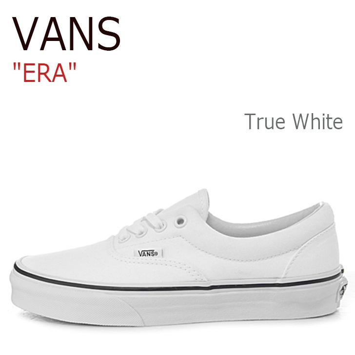 バンズ エラ スニーカー VANS メンズ レディース ERA TRUE 白い トゥルーホワイト VN000EWZW001 VN-0EWZW00 シューズ