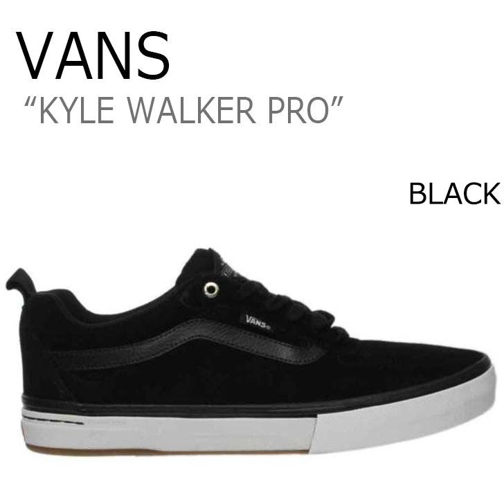 バンズ スニーカー VANS メンズ カイル ウォーカー プロ KYLE WALKER PRO BLACK ブラック VN0A2XSGN1U シューズ