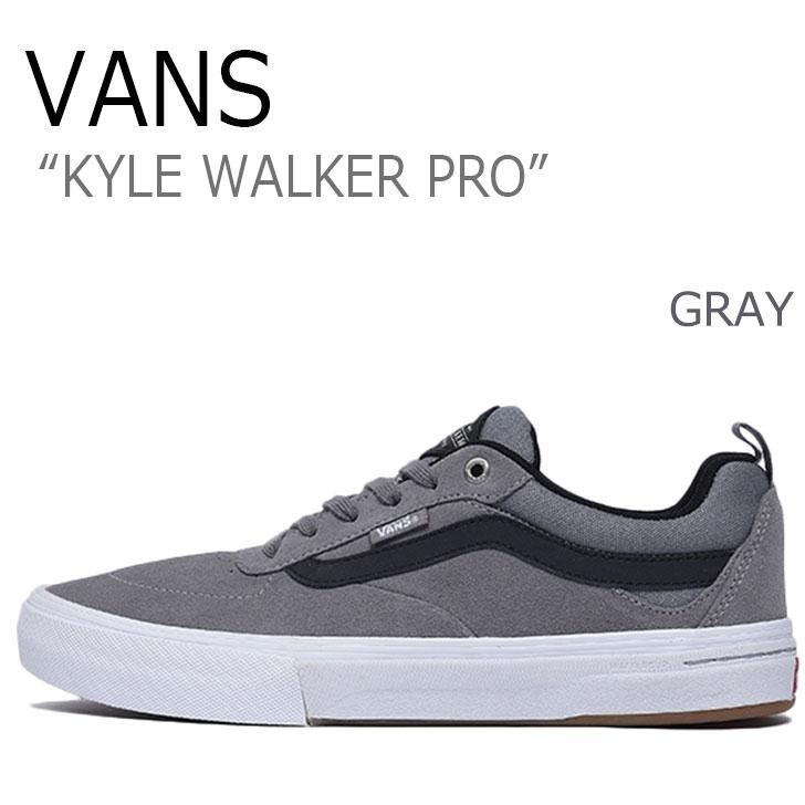 バンズ スニーカー VANS メンズ カイル ウォーカー プロ KYLE WALKER PRO GRAY グレー VN0A2XSGMGR シューズ