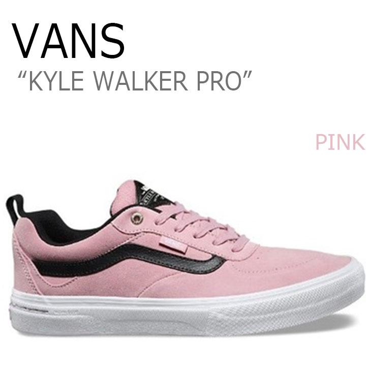 バンズ スニーカー VANS メンズ カイル ウォーカー プロ KYLE WALKER PRO PINK ピンク VN0A2XSG2PT シューズ