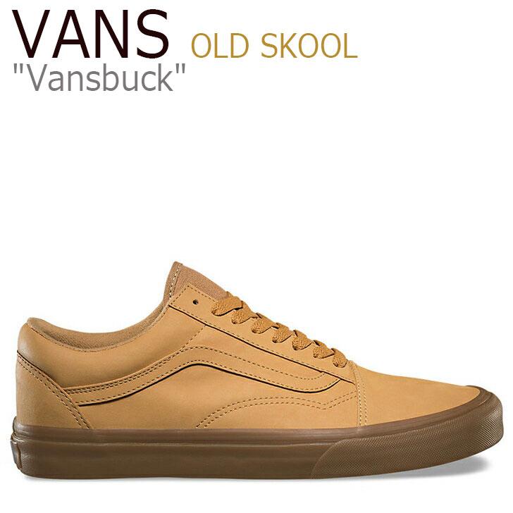 バンズ スオールドスクール スニーカー VANS メンズ レディース OLD SKOOL Vansbuck バンズバック Light Gum Mono ライトガム VN0A38G1OTS シューズ