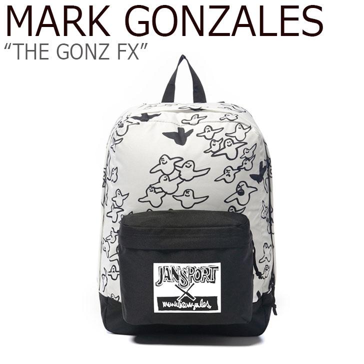 マークゴンザレス バックパック MARK GONZALES メンズ レディース THE GONZ FX ザゴンズ FX WHITE ホワイト JS3P3X5D2J3 バッグ