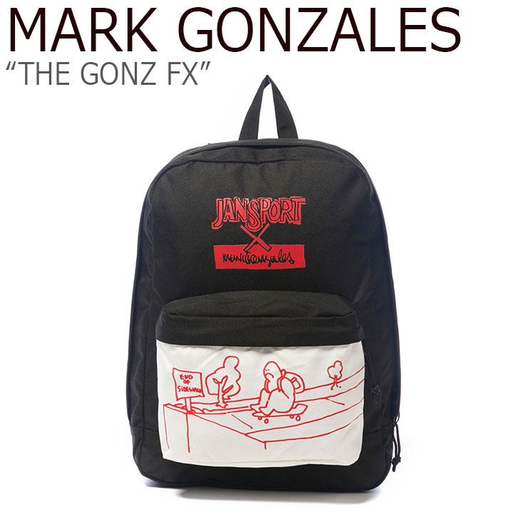 マークゴンザレス バックパック MARK GONZALES メンズ レディース THE GONZ FX ザゴンズ FX BLACK ブラック JS3P3X5D3J3 バッグ