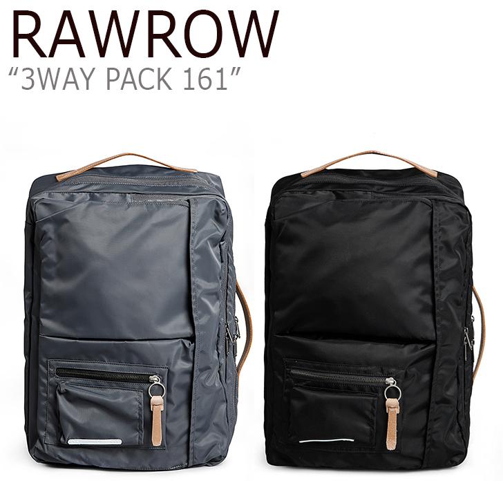 ロウロウ バックパック RAWROW メンズ レディース 3WAY PACK 161 HEAVY TWILL 15