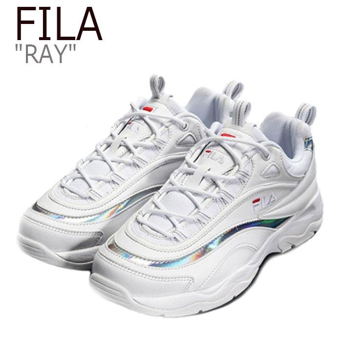 フィラ スニーカー FILA メンズレディース RAY レイ WHITH ホワイト FS1SIA1169X FS1SIB1162X シューズ