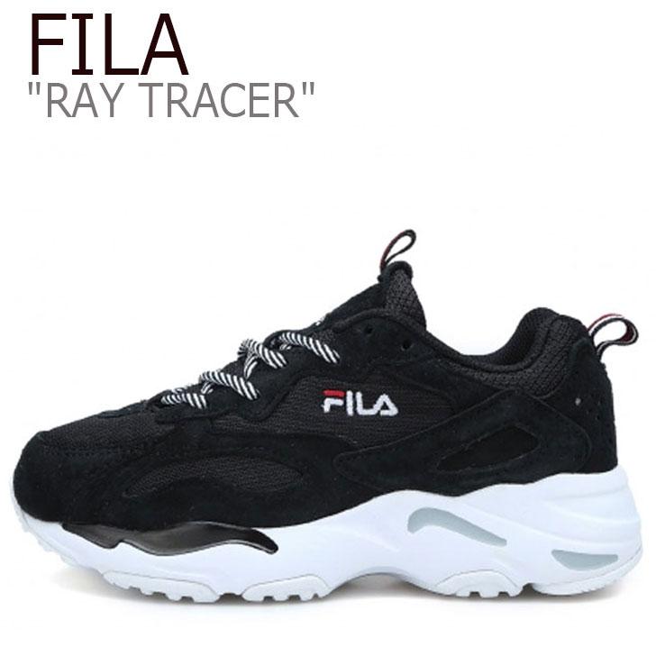 フィラ レイ スニーカー FILA メンズ レディース RAY TRACER レイトレーサー レイ トレーサー BLACK ブラック FS1SIA3132X FLFL8F4U47 シューズ