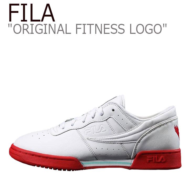 フィラ スニーカー FILA メンズ レディース ORIGINAL FITNESS LOGO オリジナルフィットネスロゴ WHITE ホワイト RED レッド FS1HTZ3412X シューズ