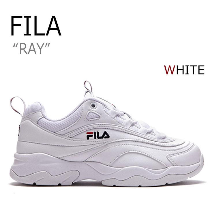 フィラ スニーカー FILA レディース RAY レイ WHITE ホワイト FLFL8A1U15 FS1SIA1160 シューズ