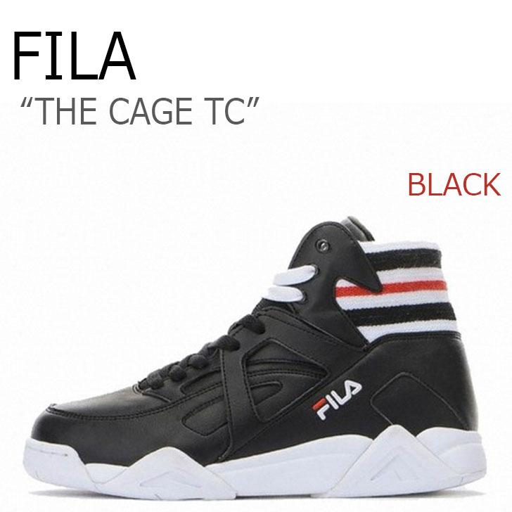 フィラ スニーカー FILA メンズ レディース ザケージTC THE CAGE TC BLACK ブラック FS1HTA1022X シューズ