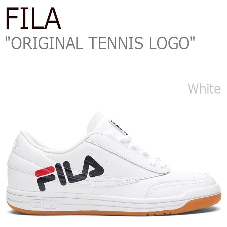 フィラ スニーカー FILA メンズ レディース ORIGINAL TENNIS LOGO オリジナル テニス ロゴ White ホワイト FS1HTZ3402X シューズ