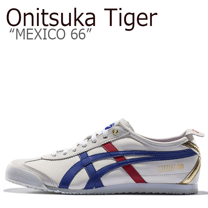 online store 50ecd 9f106 Onitsuka tiger sneakers Onitsuka Tiger men gap Dis MEXICO 66 Mexico 66  White Blue white blue D507L-0152 shoes
