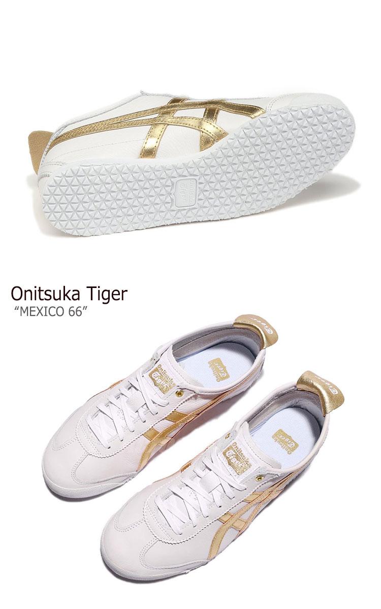 premium selection 6432d 402d2 Onitsuka tiger sneakers Onitsuka Tiger men gap Dis MEXICO 66 Mexico 66  WHITE GOLD white gold D508K-0194 shoes