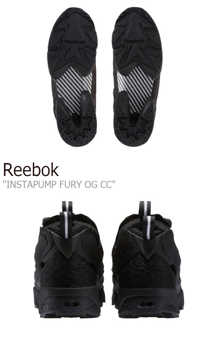 リーボック ポンプフューリー スニーカー REEBOK メンズ レディース INSTAPUMP FURY OG CC インスタポンプフューリー BLACK WHITE ブラック ホワイト BS6050 シューズ54ARc3Lqj