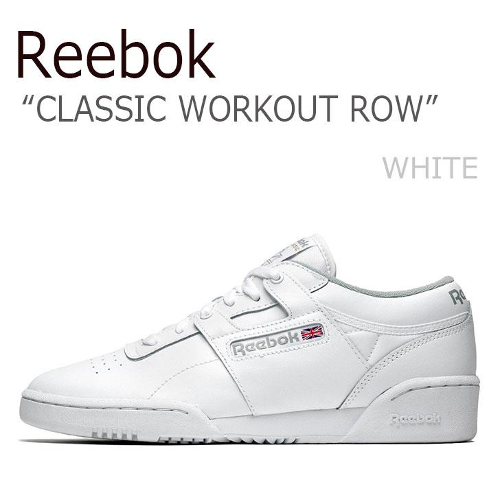 リーボック スニーカー REEBOK メンズ レディース CLASSIC WORKOUT ROW クラシック ワークアウト ロウ WHITE ホワイト CN0636 シューズ