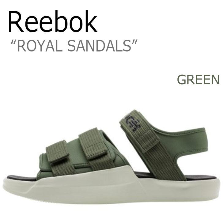 リーボック サンダル REEBOK メンズ レディース ロイヤルサンダル ROYAL SANDAL GREEN グリーン CN5496 シューズ