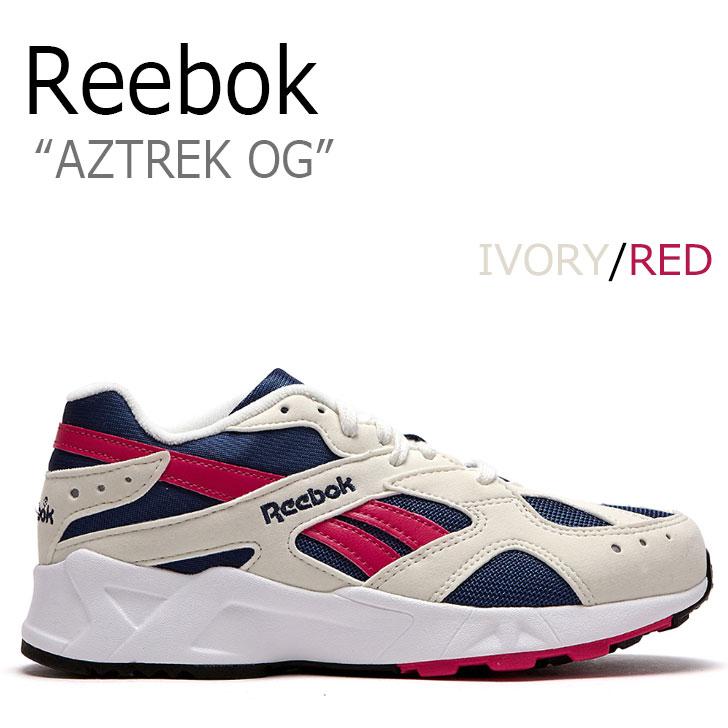 リーボック スニーカー REEBOK メンズ レディース AZTREK OG アズトレックOG IVORY アイボリー RED レッド CN7068 RBKCN7068 FLRB8F3U03 シューズ