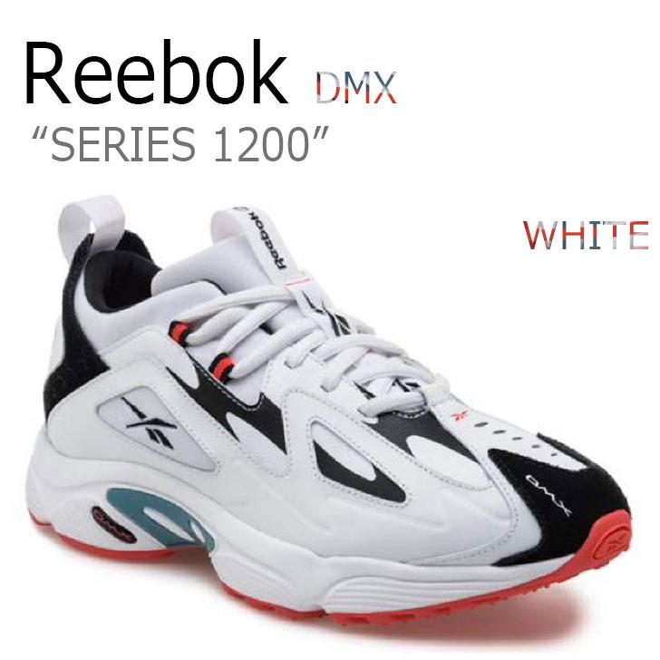 リーボック スニーカー REEBOK メンズ レディース DMX SERIES 1200 DMXシリーズ1200 WHITE ホワイト RBKCN7590 CN7590 シューズ