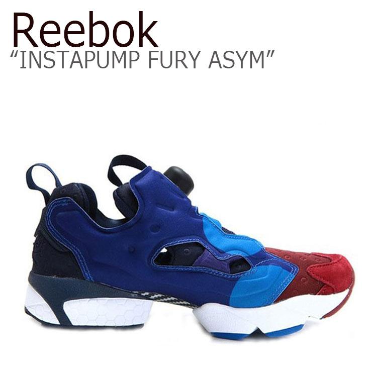 Reebok INSTAPUMP FURY ASYM BURGUNDY/BLUE SPORT【リーボック】【インスタ ポンプフューリー】【V67792】 シューズ