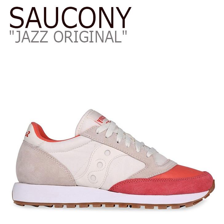 サッカニー スニーカー Saucony レディース JAZZ ORIGINAL ジャズ オリジナル CORAL コーラル S1044-405 シューズ