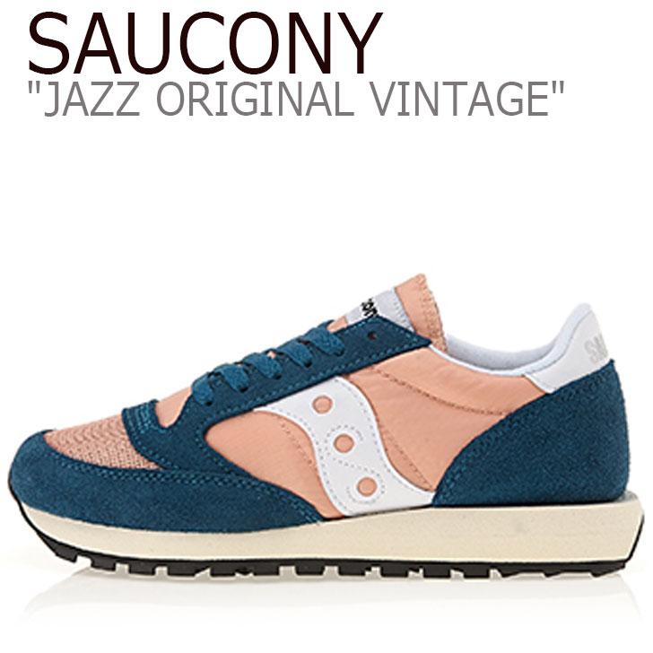 サッカニー ジャズオリジナル スニーカー SAUCONY レディース JAZZ ORIGINAL VINTAGE ジャズ オリジナル ヴィンテージ PINK ピンク S60368-42 シューズ