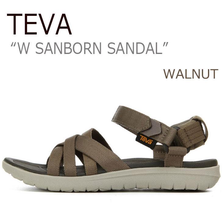 テバ サンダル TEVA レディース W SANBORN SANDAL ウィメンズ サンボーン サンダル WALNUT ウォルナット 1015161-WAL シューズ