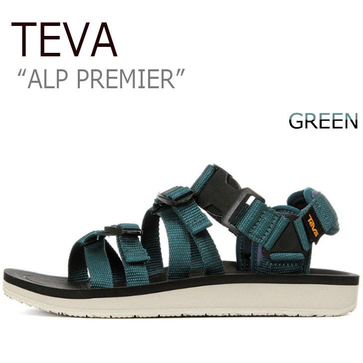 テバ サンダル TEVA メンズ ALP PREMIER アルプ プレミア GREEN グリーン 1015200-DPTL シューズ